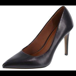 Christian Siriano Smooth Black stiletto heel NWT